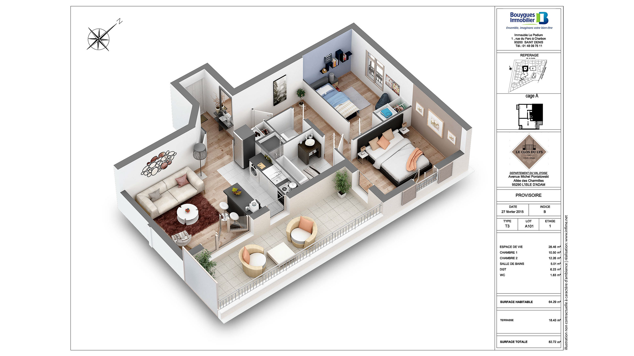 plan appartement bouygues
